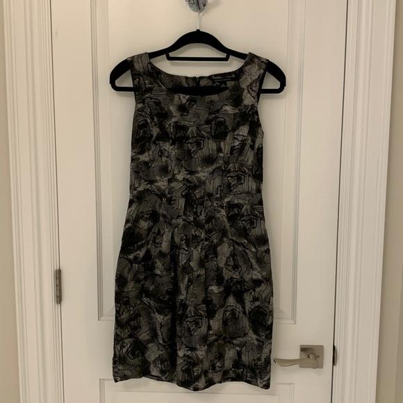 Banana Republic Holiday Collection silk dress